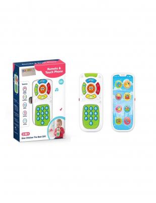 Jucarie interactiva cu 2 feţe Telecomanda si Telefon Smartphone0