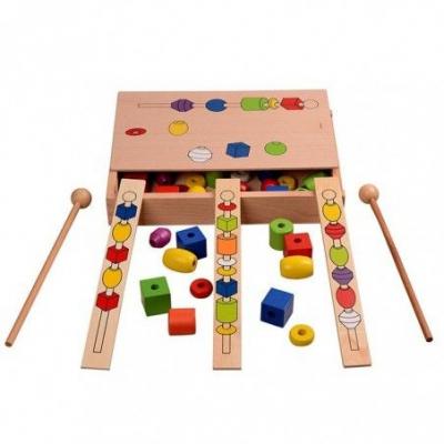 Set joc educativ - Frigarui din lemn Montessori .3