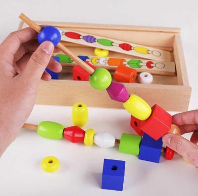 Set joc educativ - Frigarui din lemn Montessori .1