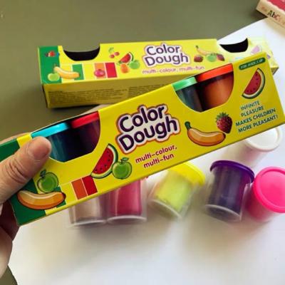 Plastilina Color Dough 4 culori  in cutie [1]