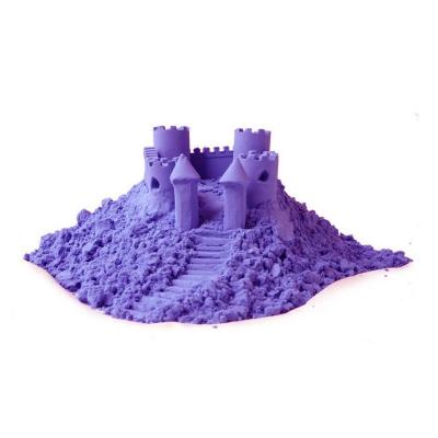 Nisip kinetic colorat 1 kg cu forme de modelaj [0]