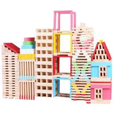 Set Creativ de Constructie din Lemn - 150 piese2
