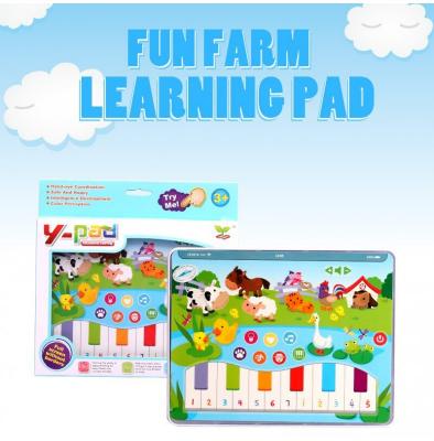 Jucarie interactiva Tableta cu animalute de la ferma2