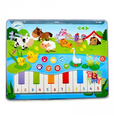 Jucarie interactiva Tableta cu animalute de la ferma0