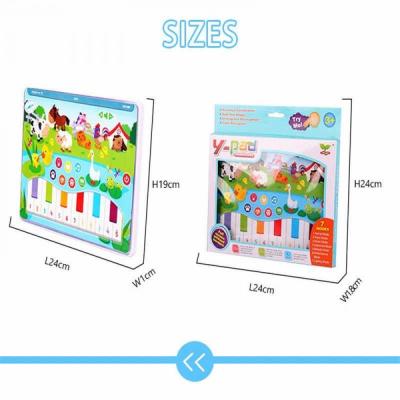 Jucarie interactiva Tableta cu animalute de la ferma4