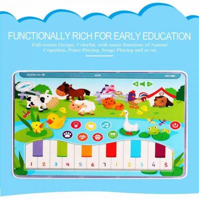 Jucarie interactiva Tableta cu animalute de la ferma3