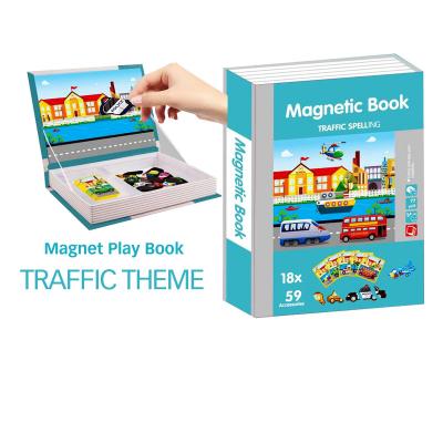 Carte magnetica  dezvoltarea abilitatilor Trafic cu mijloace de transport0
