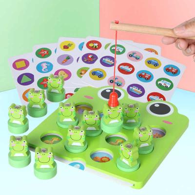 Joc de pescuit  broscuta pentru dezvoltarea inteligentei-Fishing frog memory game2