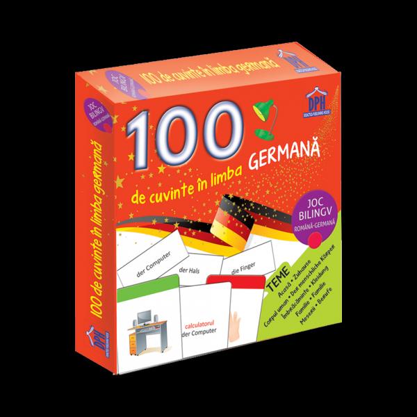 100 de cuvinte in limba germana-joc bilingv 0
