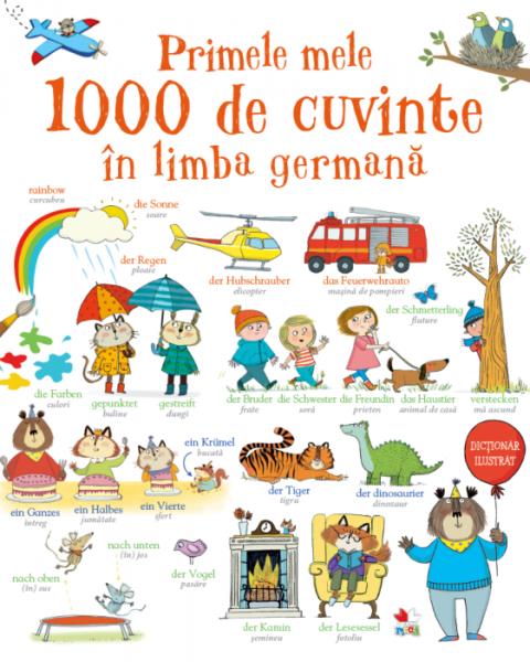Primele mele 1000 de cuvinte în limba germană 0
