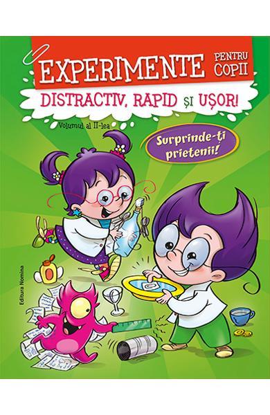 Experimente pentru copii: distractiv, rapid și ușor. Vol.2 0