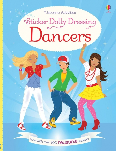 Sticker dolly dressing - Dancers 0