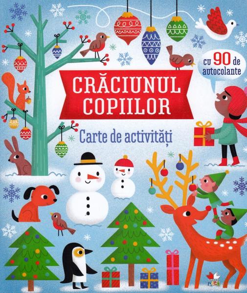 Crăciunul copiilor. Carte de activități [0]