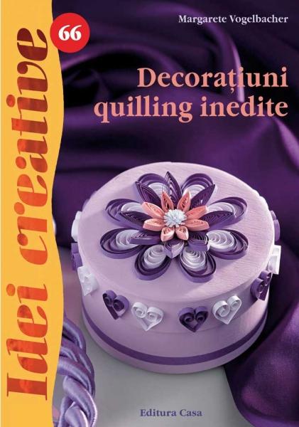 Decorațiuni quilling inedite - Idei creative Nr. 66 0