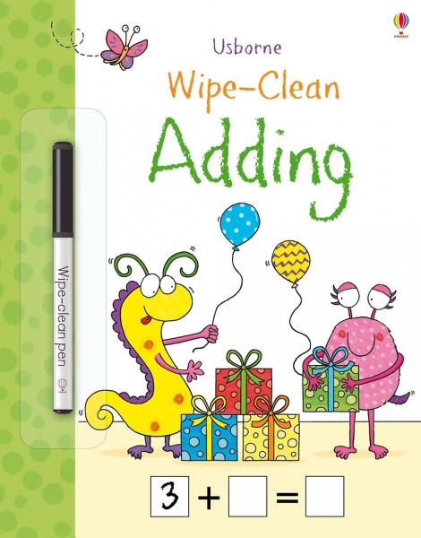 Wipe-clean adding 0