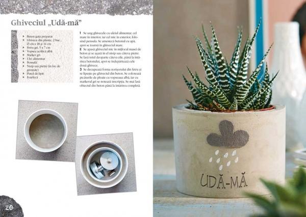 Decoraţiuni interioare din beton pentru începători - Idei creative Nr. 112 1