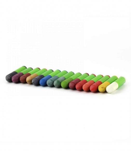 15 Creioane Cerate Naturale Pentru Textile ÖkoNORM WAX Tex Nawaro 2