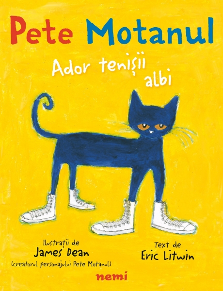Pete Motanul - Ador tenisii albi 0