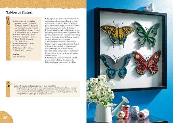 Quilling – decoraţiuni moderne - Idei Creative Nr. 110 1