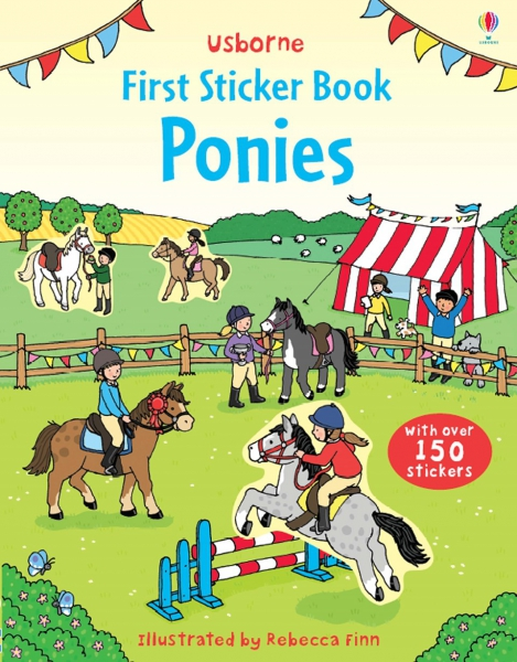 First Sticker Book Ponies 0