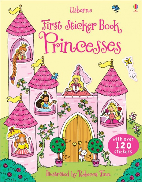 First Sticker Book Princesses 0