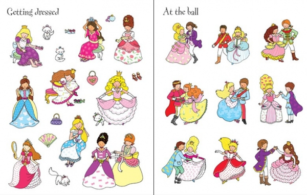 First Sticker Book Princesses 1