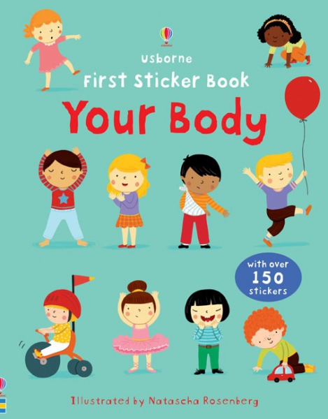First Sticker Book Your body 0