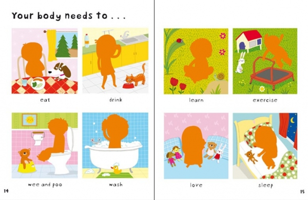 First Sticker Book Your body 2