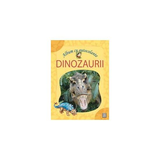 Dinozaurii - Album cu autocolante 0