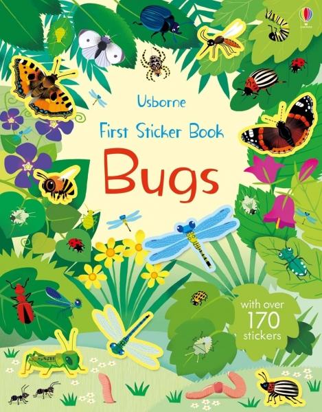 First sticker book bugs 0