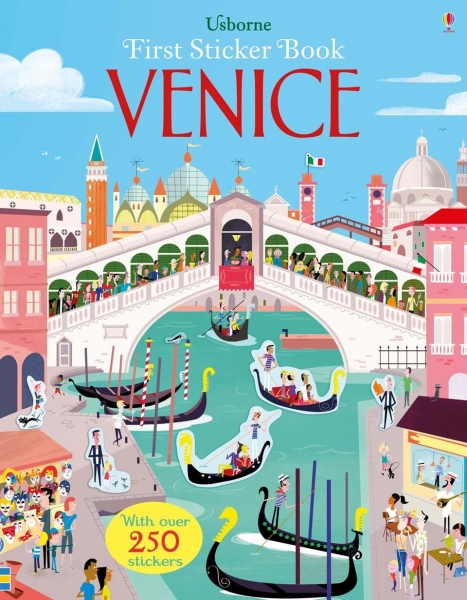 First sticker books - Venice 0