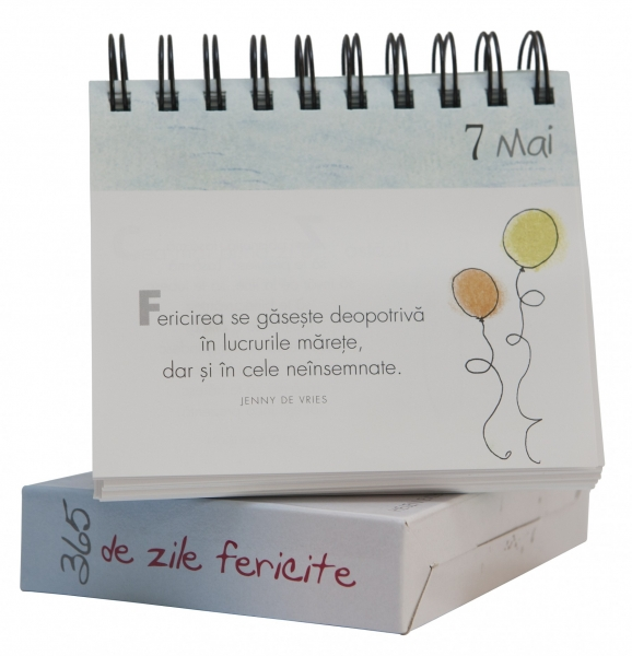 """Calendarul """"365 de zile fericite"""" 1"""