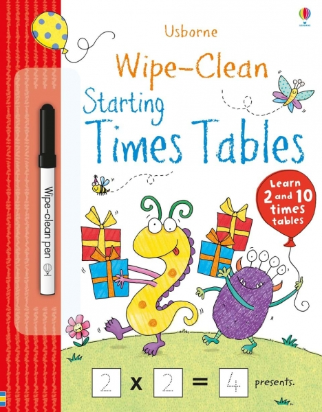 Wipe-clean starting times tables 0