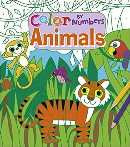 Colour by Numbers: Animals 0
