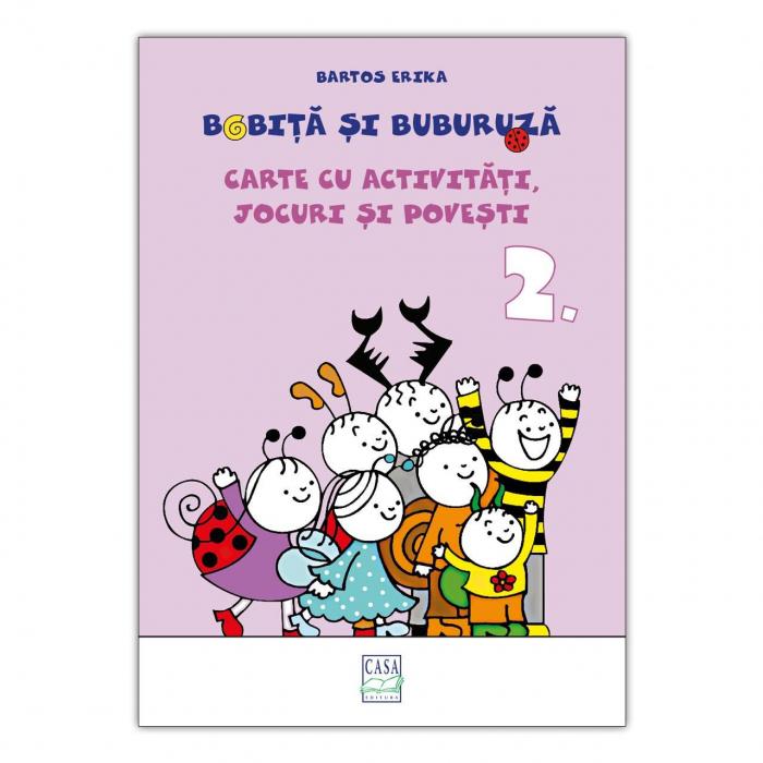 Bobiță și Buburuză - Carte cu activități, jocuri și povești nr. 2 [0]