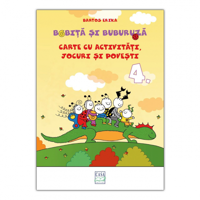 Bobiță și Buburuză - Carte cu activități, jocuri și povești nr. 4 [0]