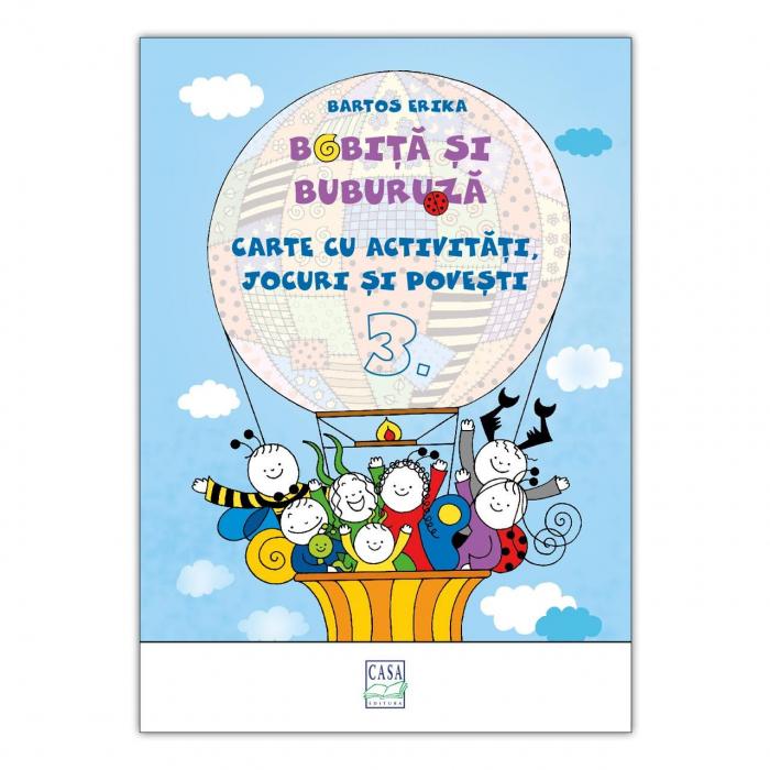 Bobiță și Buburuză - Carte cu activități, jocuri și povești nr. 3 [0]