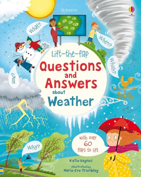 Lift-the-flap questions and answers about weather 0