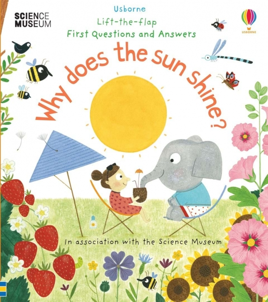 Lift-the-flap first questions and answers - Why does the sun shine? 0