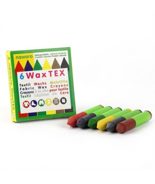 6 Creioane Cerate Naturale Pentru Textile ÖkoNORM WAX Tex Nawaro 2