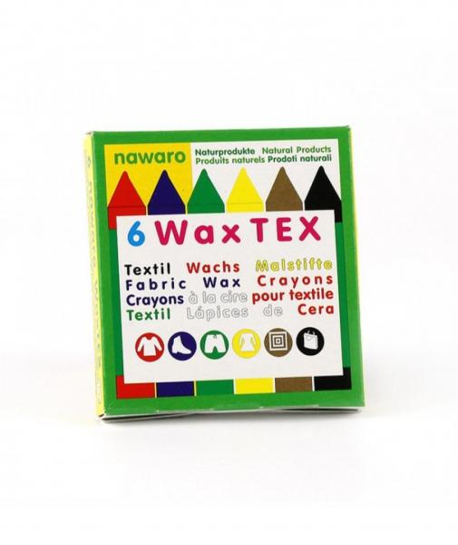 6 Creioane Cerate Naturale Pentru Textile ÖkoNORM WAX Tex Nawaro 0