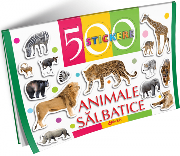 500 stickere - Animale salbatice [0]
