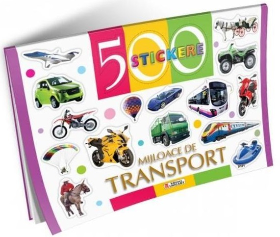 500 stickere - Mijloace de transport [0]