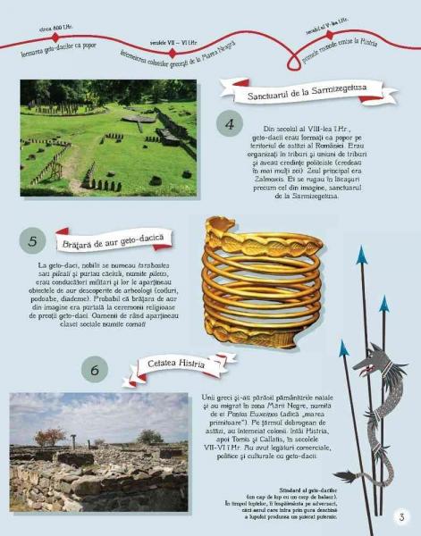 Istoria Romaniei pentru copii in 100 de imagini 3