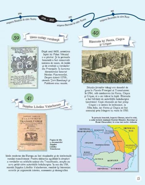 Istoria Romaniei pentru copii in 100 de imagini 4