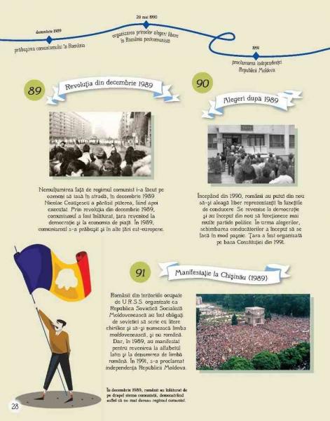 Istoria Romaniei pentru copii in 100 de imagini 5