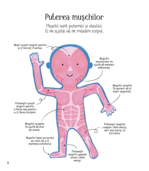 Prima mea carte despre corpul uman 4