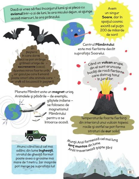 Intrebari si raspunsuri istete despre planeta noastra 3