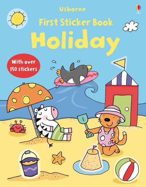 First Sticker Book Holiday 0