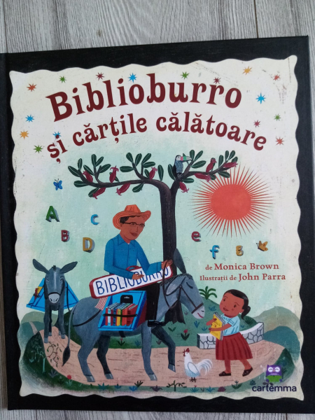 Carte rănită - Biblioburro și cărțile călătoare 0